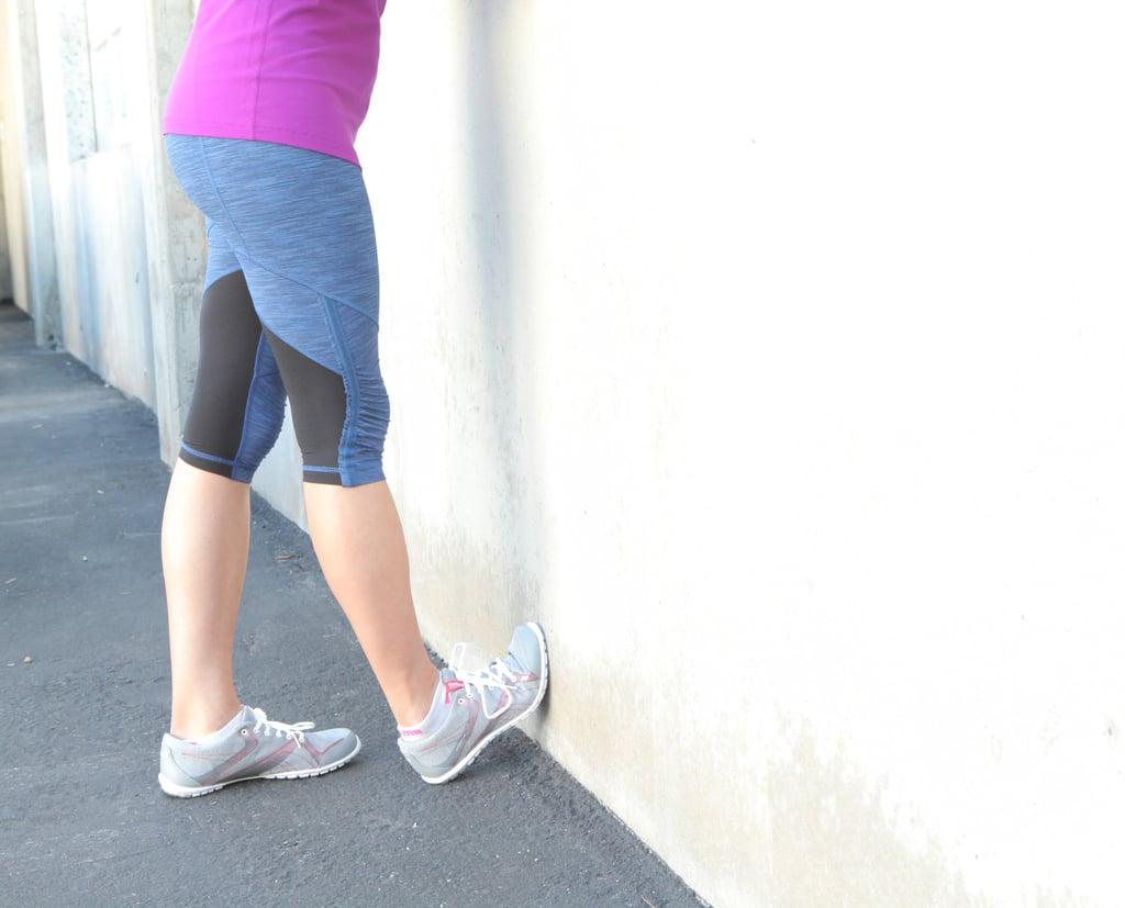 wall curb stretch