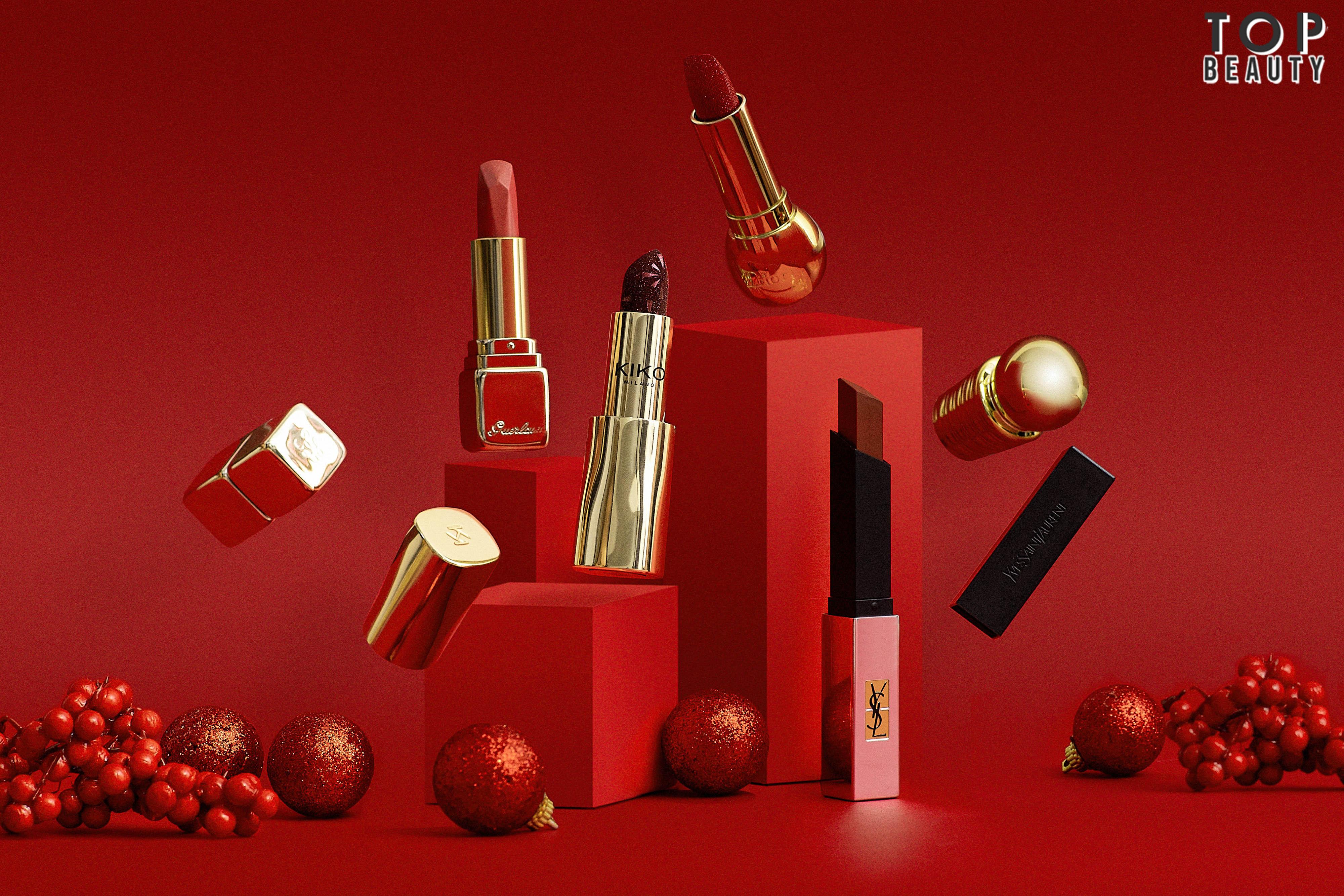 Christmas Makeup Lipsticks