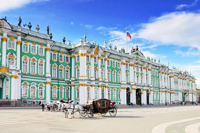 俄羅斯聖彼得堡冬宮