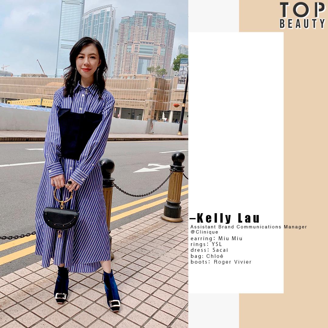 【Top Style】美容公關上班穿搭:連身裙配尖頭短靴 簡約易襯穿出隨性時尚