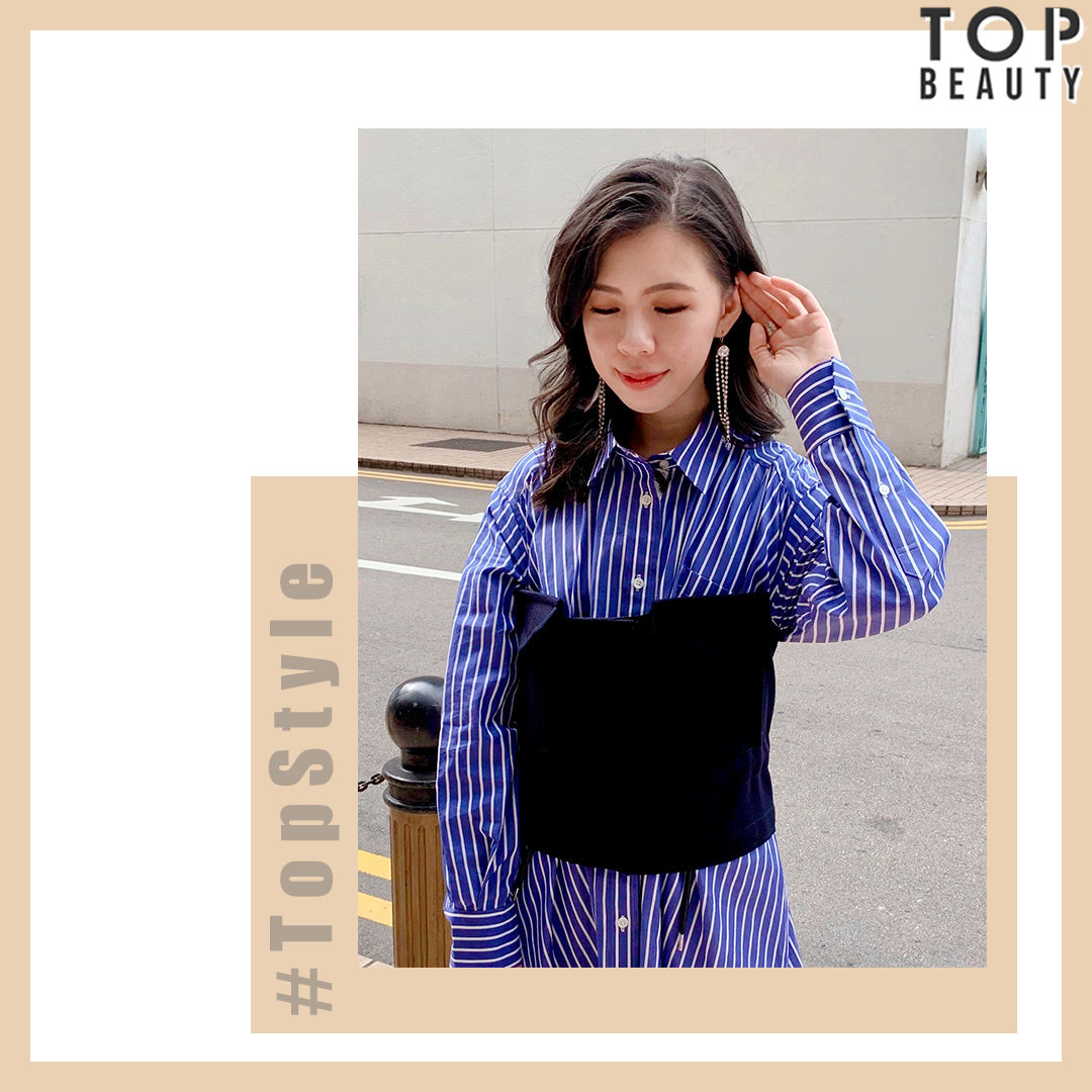 【Top Style】上班穿搭:連身裙配尖頭短靴 簡約易襯穿出隨性時尚