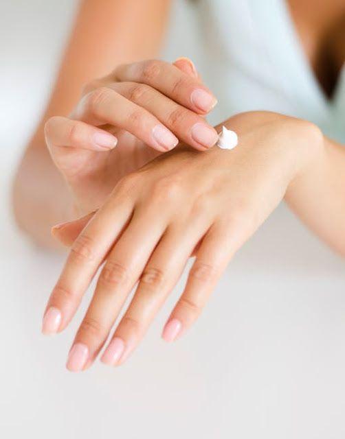 apply hand cream