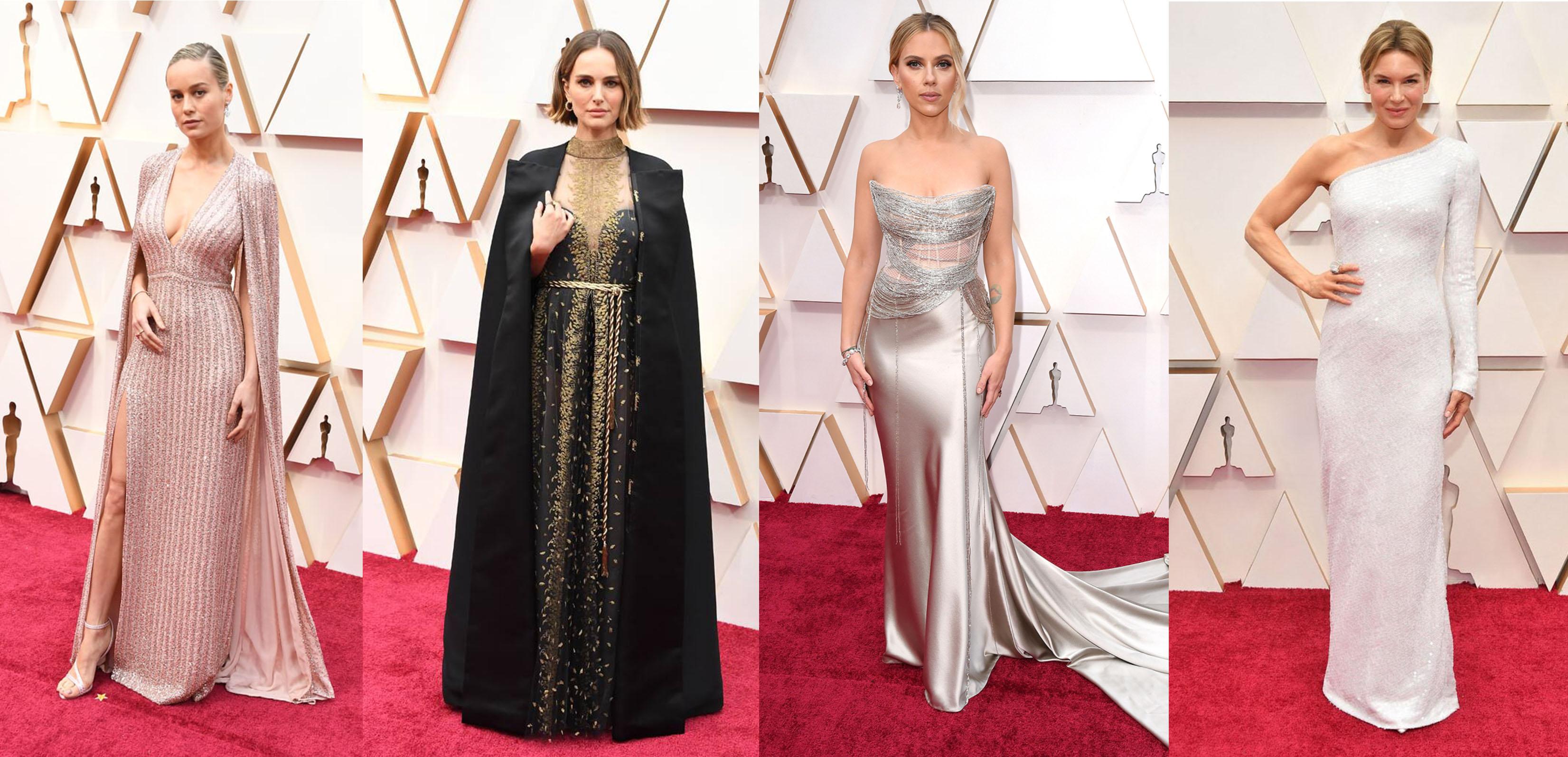 【奧斯卡2020】透視蕾絲、大低V設計讓人驚艷 紅地毯矚目晚裝Top 10