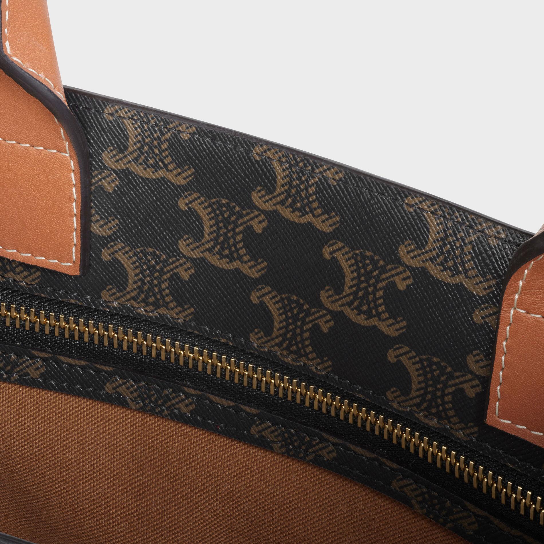 2020 CelineTriomphe Canvas Cabas Bag