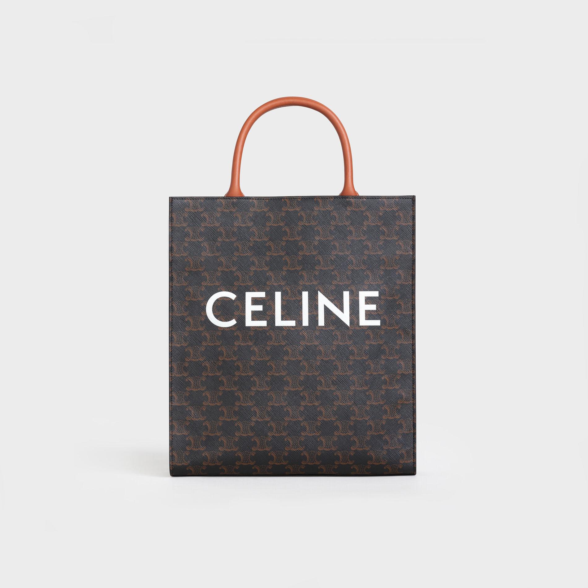 CelineTriomphe Canvas Cabas Bag