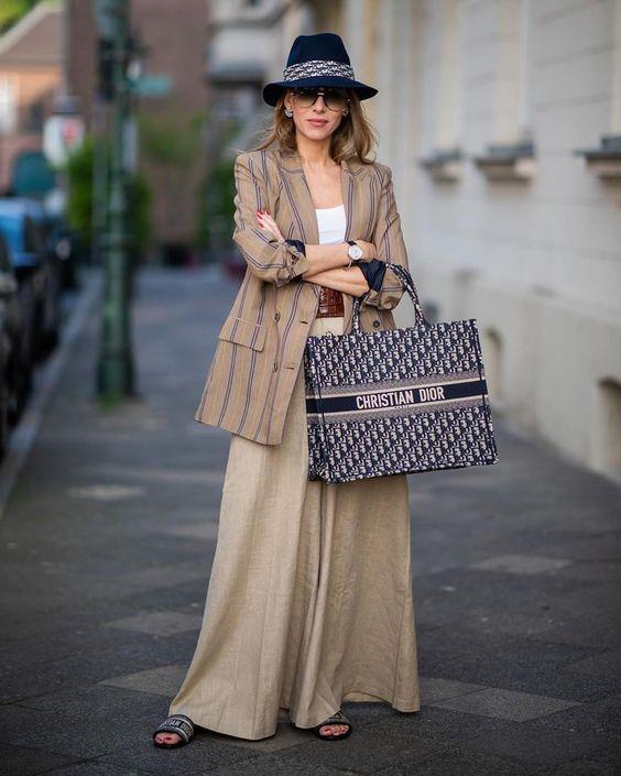 Dior book tote 穿搭
