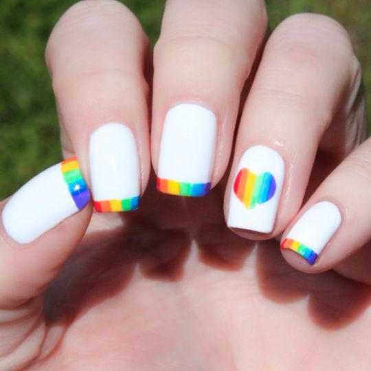 【2020春夏美甲提案】看再久也不會膩的指甲彩繪 「你也能擁有屬於自己的一道彩虹」