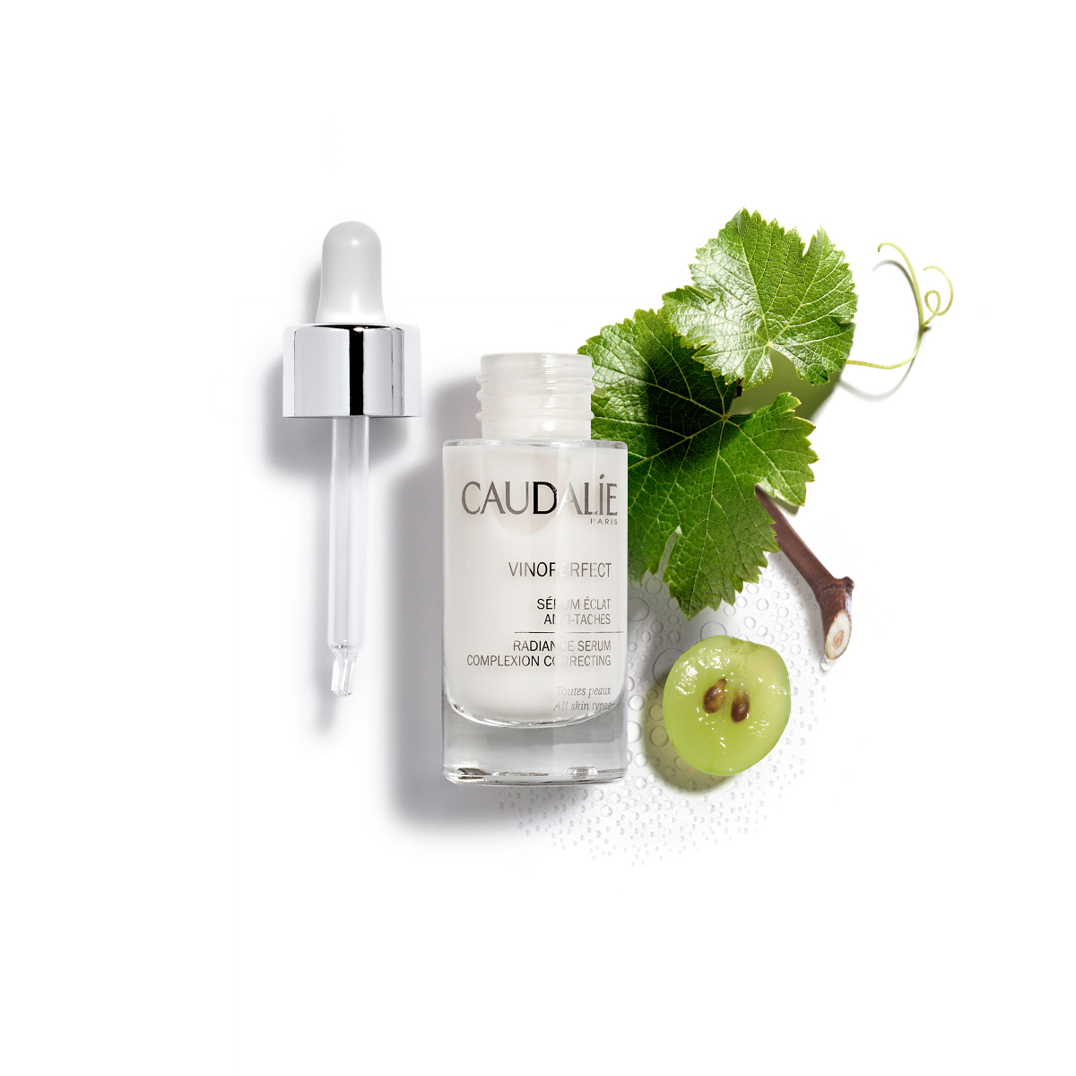 Caudalie Vinoperfect Radiance Serum (mood)