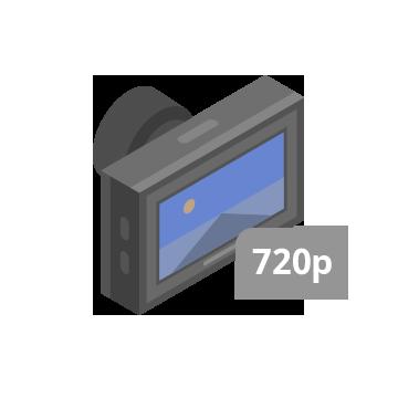 Hỗ trợ camera 4/8 ch AHD 720P