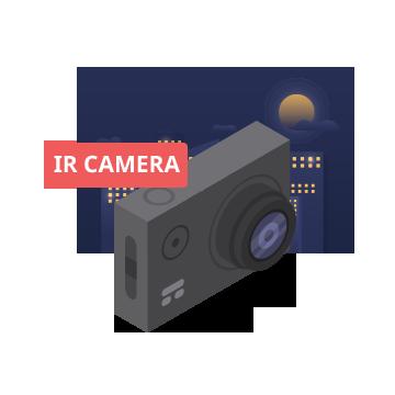 Tích hợp Camera hồng ngoại