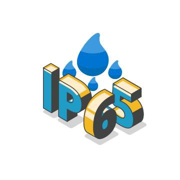 Chống nước chuẩn IP65