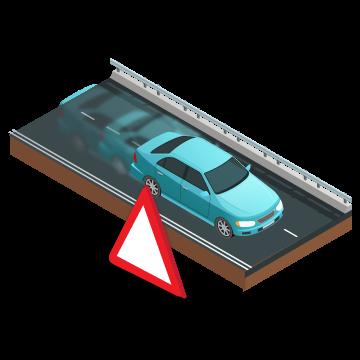 Cảnh báo dời vị trí xe