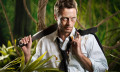 businessman in jungle trees workplace bullying