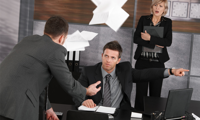 Boss firing employee to show dont be so quick to fire employees