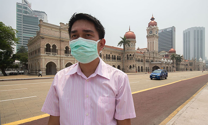 Haze in Malaysian affecting employees
