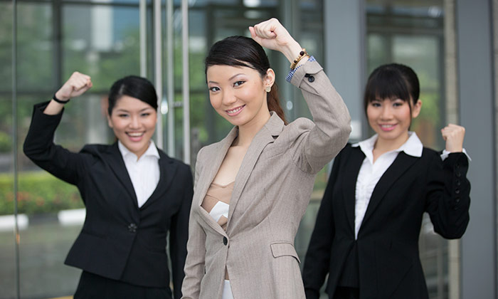 Asian women to show Singapore boasts higher number of women in workplace