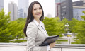 Asian businesswoman to show Singapore best country in the world for working women