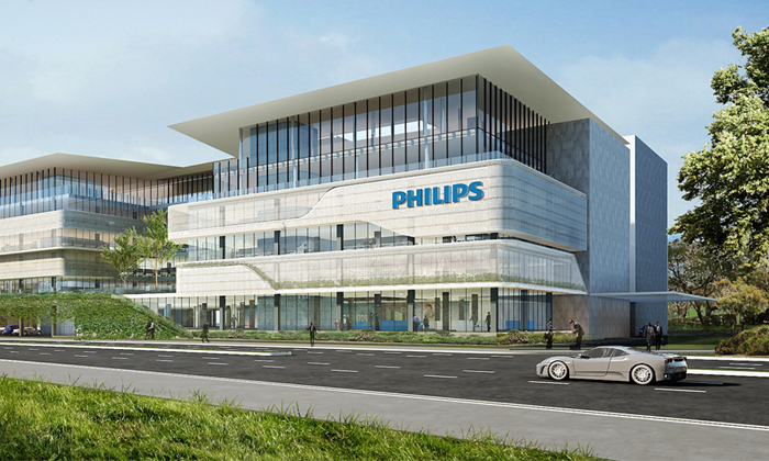 Royal Philips' new regional HQ in singapore
