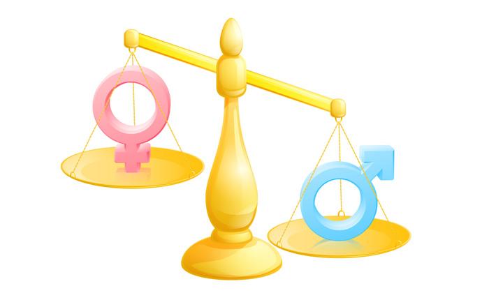Employment imbalance - men vs women