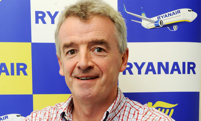 Michael O' Leary, CEO of Ryanair