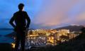 Asia Pacific confidence rises businessman