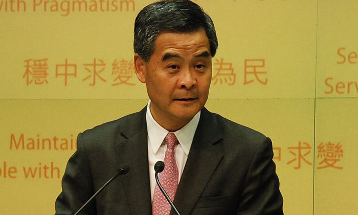 CY Leung Hong Kong chief executive