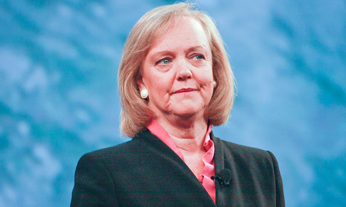 Meg Whitman's compensation package