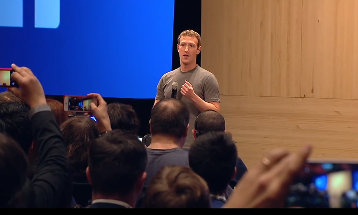 Mark Zuckerberg townhall Barcelona Facebook
