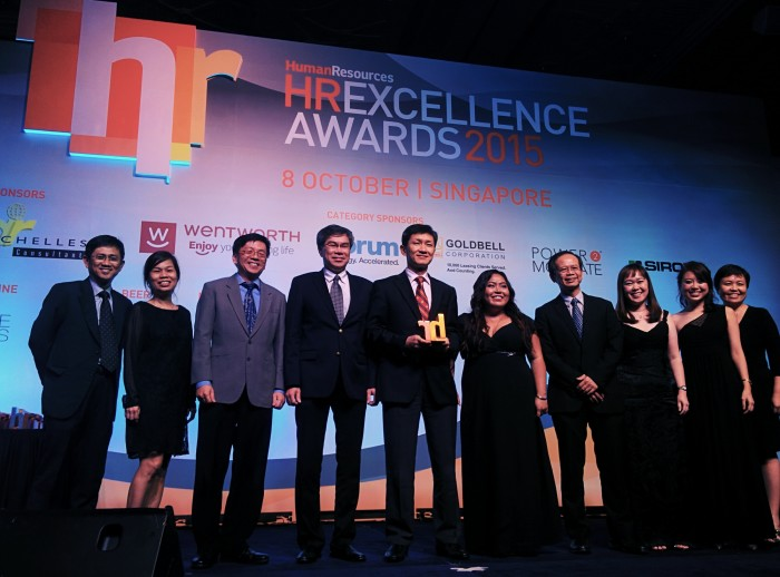 live hr excellence awards 2015 singapore human resources online. Black Bedroom Furniture Sets. Home Design Ideas