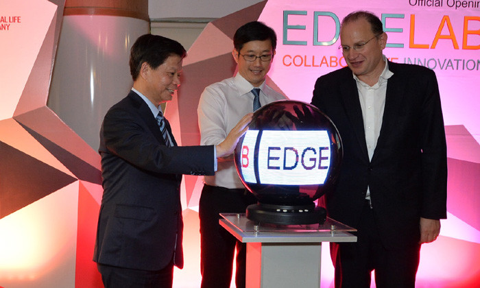 AIA and NTU launch Edge Lab