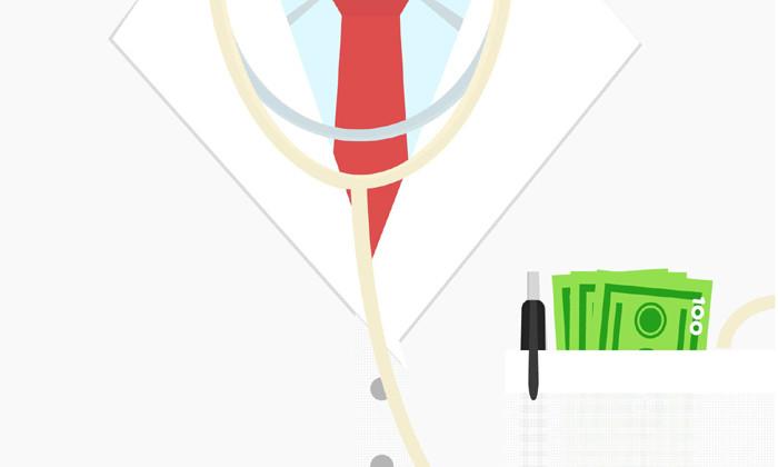 Public doctors' salary notification