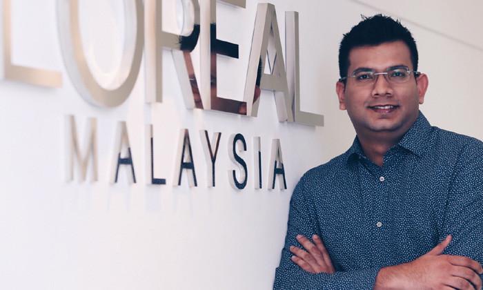 Zubair Raffiq, Loreal Malaysia - provided by Jean Loh