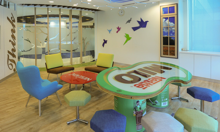 Photos: Concept Of A U0027little Nestu0027 Drives Nestlé Malaysiau0027s Office Design |  Human Resources Online