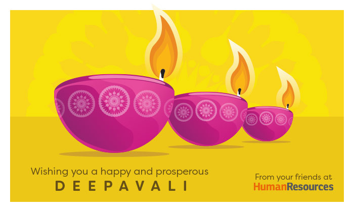 Happy Deepavali from the Human Resources team