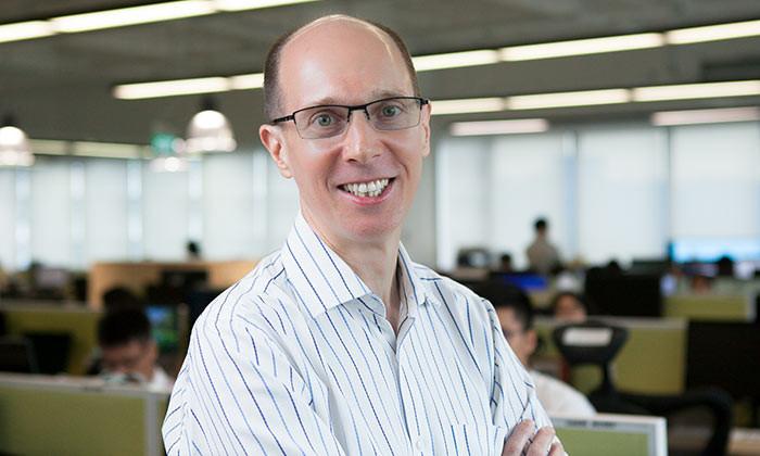 Bob Charles, country head of CXA Hong Kong