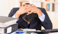 stressed businessman work-life balance HR