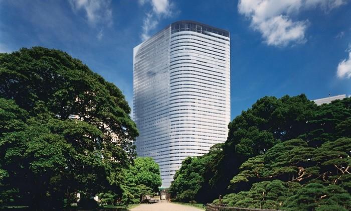 Dentsu HQ in Tokyo, Japan, hr