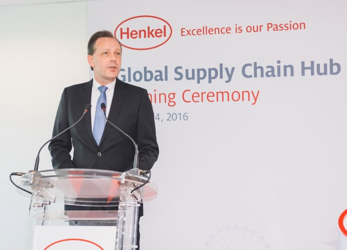 Henkel's talent planning for its global supply chain hub in