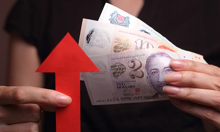 Salary increases in Singapore