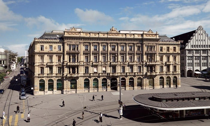 Credit Suisse office Zurich, hr