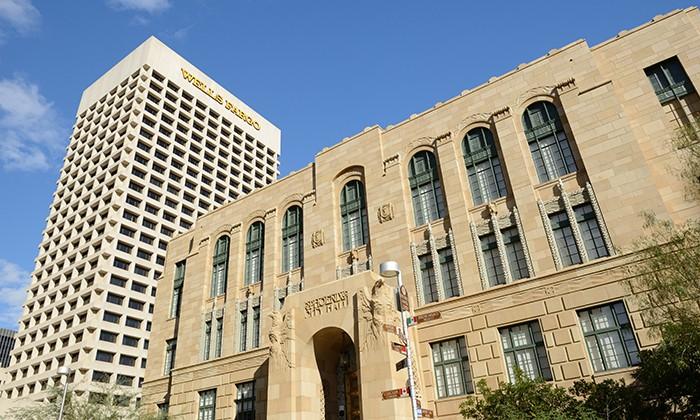 Wells Fargo building, hr