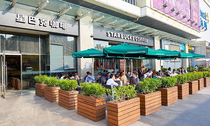 Starbucks store in Shenzhen, hr