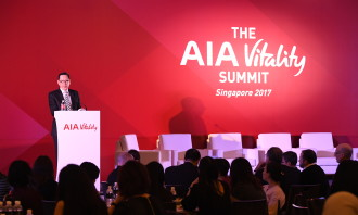 Welcome address by Patrick Teow, Chief Executive Officer, AIA Singapore