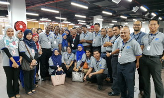 Visitors from Malaysia Maritime Academy