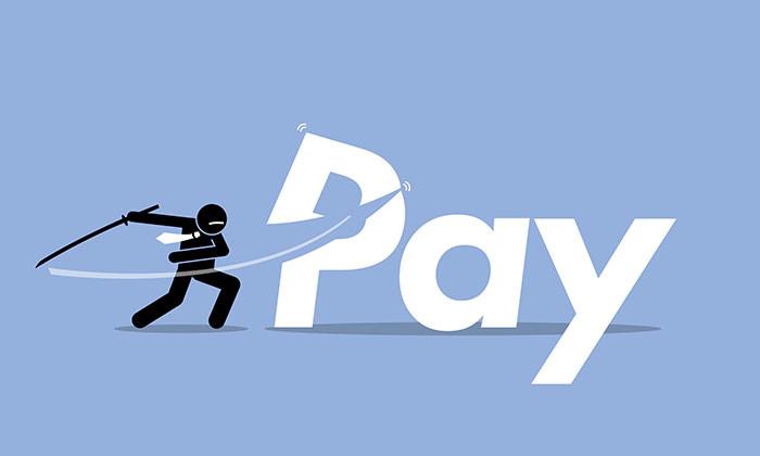 pay cut- 123RF