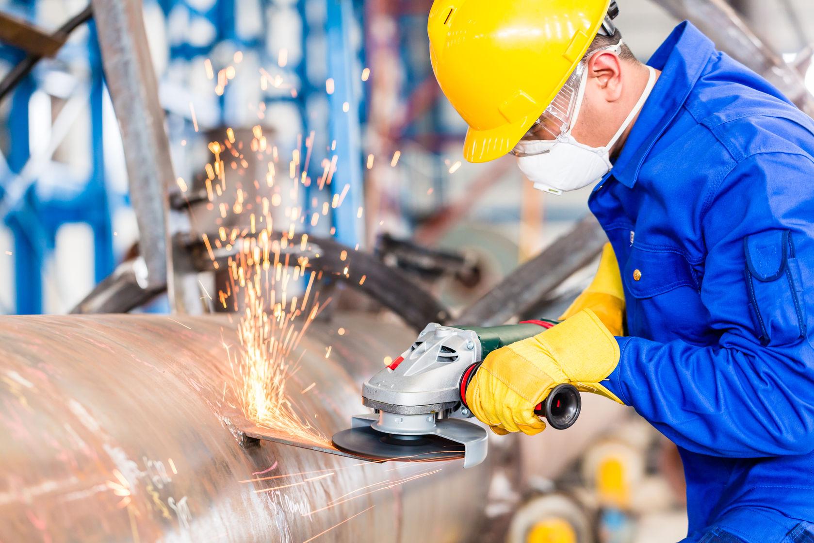 безопасность при работе с болгаркой