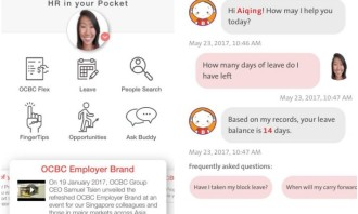 OCBC HR app