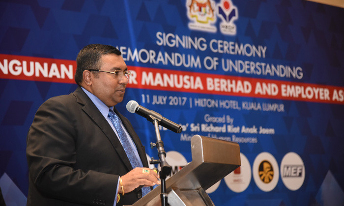 Dato' CM Vignaesvaran, Chief Executive of HRDF