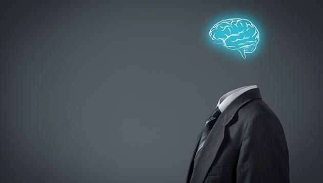 Business suit with a brain, hr