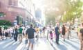 People walking in Singapore - 123RF